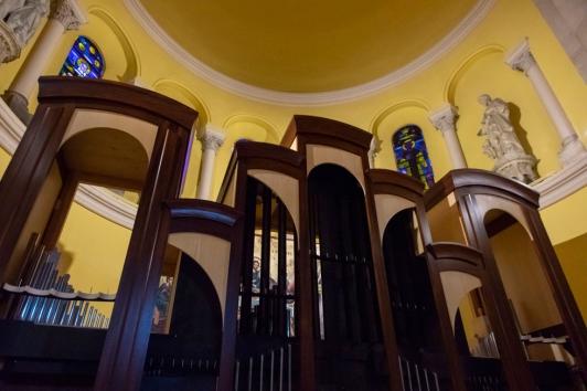 Destiné au Conservatoire TPM, l'orgue a été monté dans l'église du Mourillon