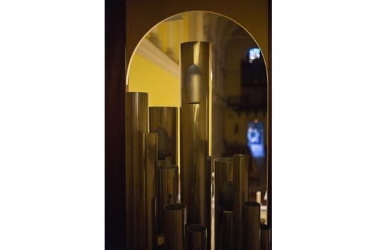 Montage de l'orgue du Conservatoire TPM dans l'église Saint-Flavien