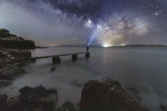 La tête dans les étoiles... ©David Gaultier