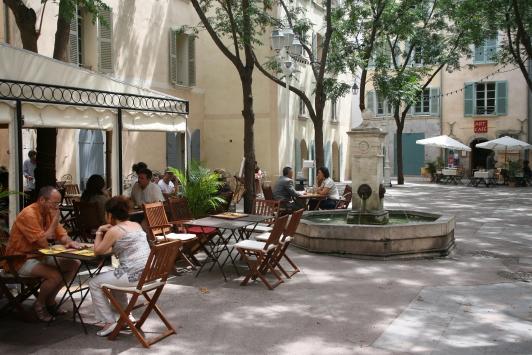 Place Dame Sibille - Toulon