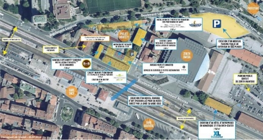 Plan de situation quartier Montety
