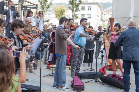 Concert surprise des musiciens de l'Opéra de Toulon