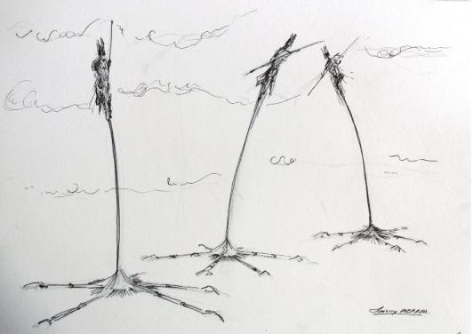 Prélude-Mâts pliants ©Thierry Pierras