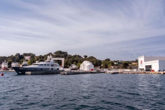 Chantier naval Monaco Marine à La Seyne-sur-Mer