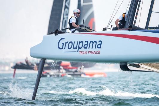 Groupama Team France © Ricardo Pinto