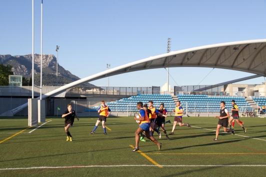 Première édition du tournoi inter-établissements de rugby à 7 à Léo Lagrange