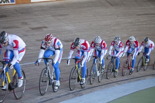 Equipe russe, vélodrome TPM