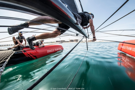 Oracle Team USA © Sam Greenfield