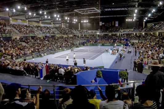 Palais des sports Coupe Davis © Olivier Pastor TPM