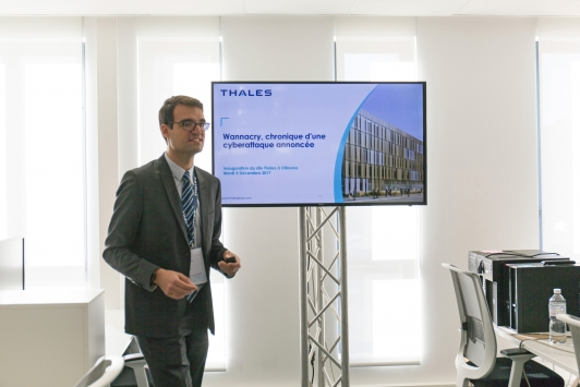 Inauguration de Thalès