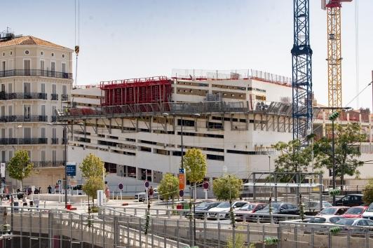 Failles de la façade - bâtiment ESAD TPM
