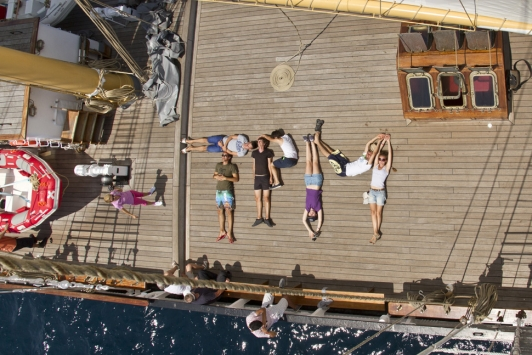 2012 : Lisbonne - Cadix à bord du Santa Maria Manuela