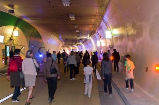 Journées portes ouvertes dans le tunnel les 15 et 16 mars