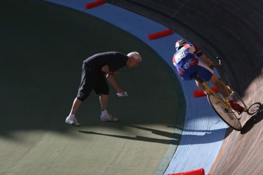 Pratiquer au Vélodrome