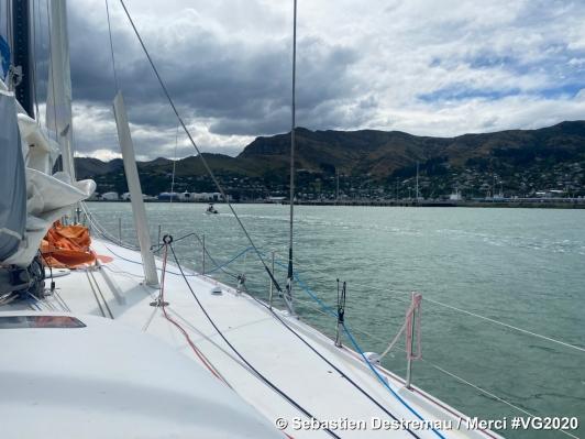 Merci - Sébastien Destremau, à quai en Nouvelle Zélande