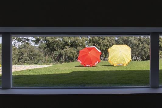 Bertrand Lavier - Cocacollage, 2019