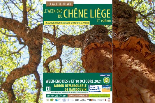Week-end Chêne liège 2021 - Jardin remarquable de Baudouvin