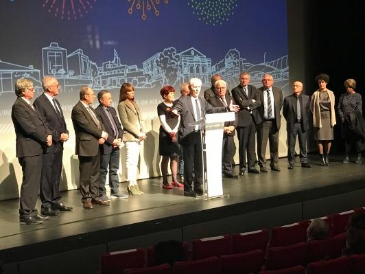 Voeux 2018 aux personnels et élus de TPM