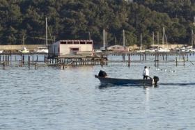 Baie de Tamaris - Ferme aquacole