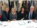 Claire Chazal, entourée de Pascale Boeglin, Charles Berling et Hubert Falco