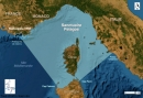 Carte du périmètre Pelagos