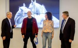 "Présentation ""Ex Anima"" - Hubert Falco, Bartabas, Pascale Boeglin Rodier et Robert Beneventi"