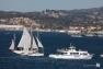 Arrivée du Mutin dans la rade de Toulon