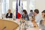 Régulation de la fréquentation estivale des îles d'or - Conf de presse