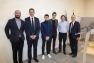 Hervé Stassinos, Hubert Falco et les architectes du Conservatoire TPM - Site du Pradet