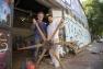 Mario Ferreria et son fils - restauration de la presse Eugène Brisset - ESAD TPM