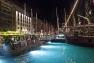 Le port de Toulon de nuit