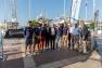 Partenaires, organisateurs et équipage TPM réunis pour présenter la course