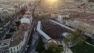 Inaugurarion place Clemenceau à Hyères, vue du ciel (c)Ville d'Hyères