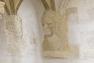 Tête d'empereur, gypserie, Maison du patrimoine à Ollioules