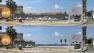Simulation de l'ouverture sur la mer après démolition du mur d'enceinte nord