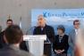 Inauguration Pôle universitaire - L'architecte Nicolas Michelin