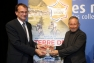 Gilles de Costa, président de la FFC, a remis le label à Christian Simon, vice-président de TPM