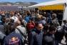 Près de 10 000 personnes étaient au rendez-vous malgré le fort Mistral