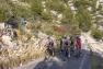 Les coureurs du Tour du Haut-Var dans la montée du Faron