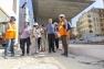 Visite du chantier Chalucet - quartier de la Connaissance et de la Créativité