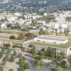 Plans du futur lycée du Golf Hôtel à Hyères
