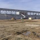 Travaux Complexe sportif de l'Estagnol - Février 2013